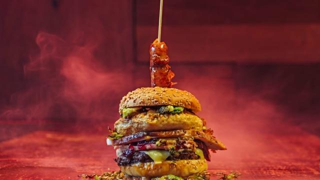 Solita Christmas burger
