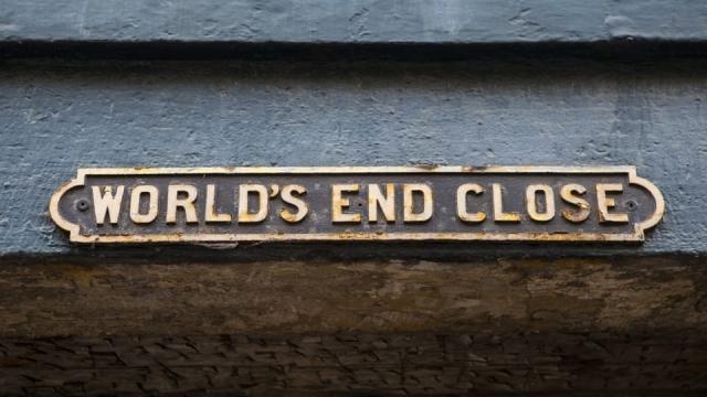 World's End Close Edinburgh