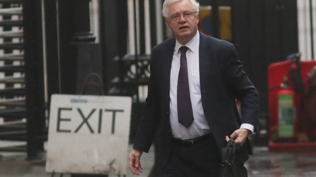 David Davis's Department for Exiting the EU has the lowest rate of FOI responses in Whitehall, according to government figures. (AFP/Getty)