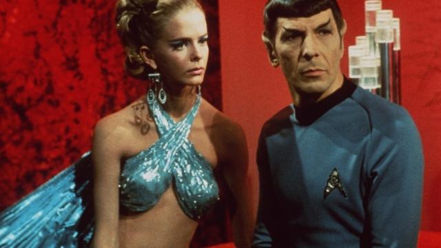 Leonard Nimoy as Mr. Spock in Star Trek (Getty)