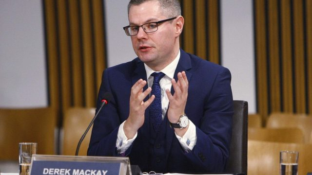 The tax plans were unveiled by Scottish Finance Secretary Derek Mackay, who is expected to do a Budget deal with the Greens (Photo: PA)