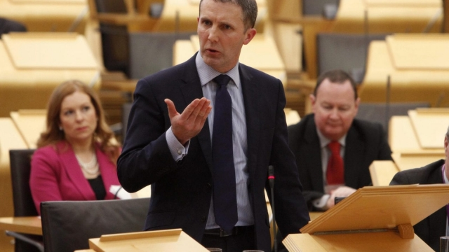 Michael Matheson objected to the reinstatement of Police Scotland Chief Constable Phil Gormley (Photo: PA)