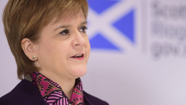 Nicola Sturgeon said the Welsh Government are in exactly the same position as the Scottish Government.