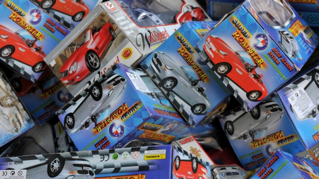 Some popular children's toys were found to have excessive amounts of bromium and lead.