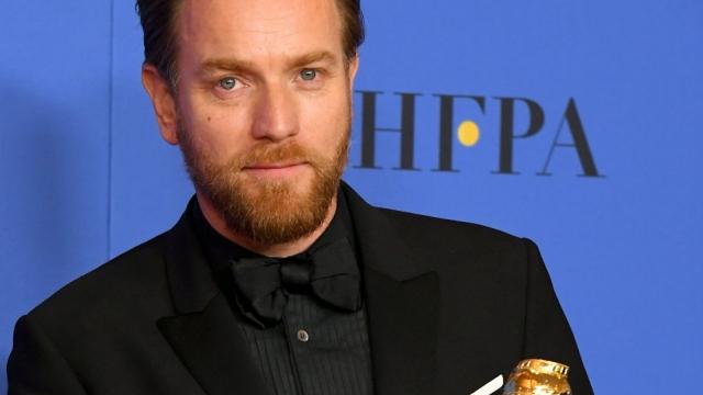 Ewan McGregor Golden Globes