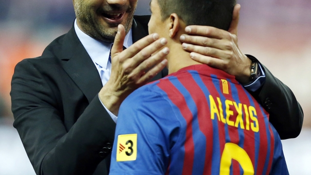 Article thumbnail: Alexis Sanchez becomes the 12th man to have played for both Jose Mourinho and Pep Guardiola (Getty Images)