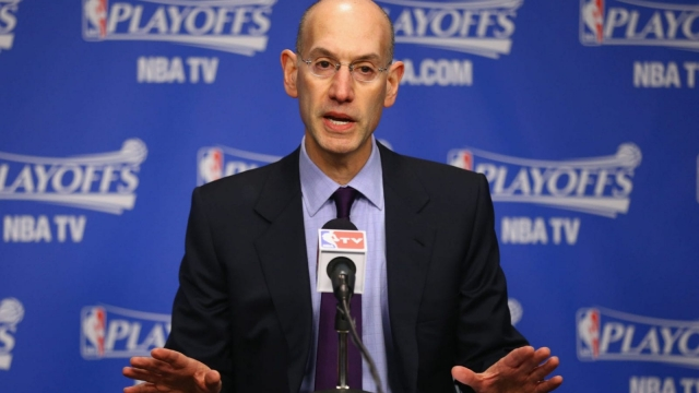 Commissioner Adam Silver explains how the NBA wants to expand its influence across the globe (Getty Images)