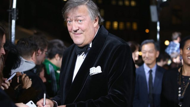 Stephen Fry was almost the cause of an international blasphemy incident (Photo: Getty)