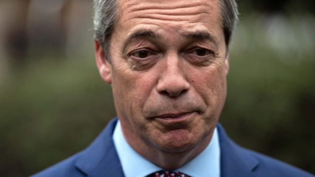 Nigel Farage is on UK radio at least five days a week (Photo: Carl Court/Getty Images)