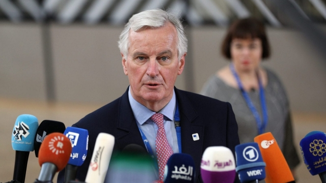 Michel Barnier: talking tough on Brexit. (Photo by Dan Kitwood/Getty Images)