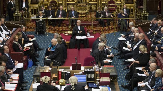 The House of Lords is set to inflict up to 12 defeats on Brexit legislation (Dan Kitwood - WPA Pool / Getty Images)