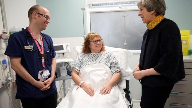 Theresa May NHS