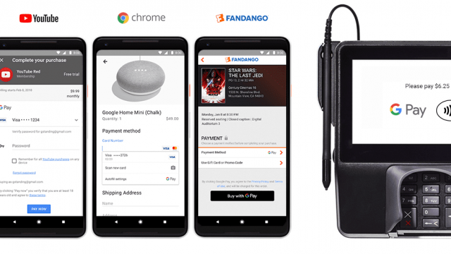 Google is rebranding Android Pay as Google Pay (Photo: Google)