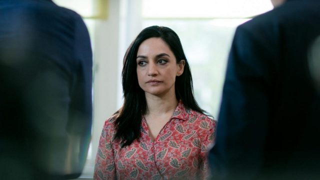 Panjabi plays Mona, a lovely GP whose surgeon brother, Kareem, is expected back home in London after finishing five months of charity work in Pakistan (Photo: ITV)