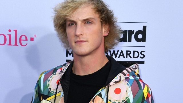 YouTube vlogger Logan Paul has been causing controversy again (AFP/Getty)