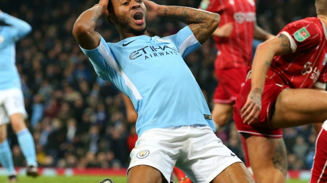 Raheem Sterling is regularly subjected to vile racist abuse on social media (Getty Images)