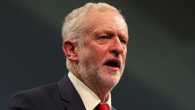 Jeremy Corbyn has accused Theresa May of following Donald Trump's timing over airstrikes in Syria (Photo: PA)