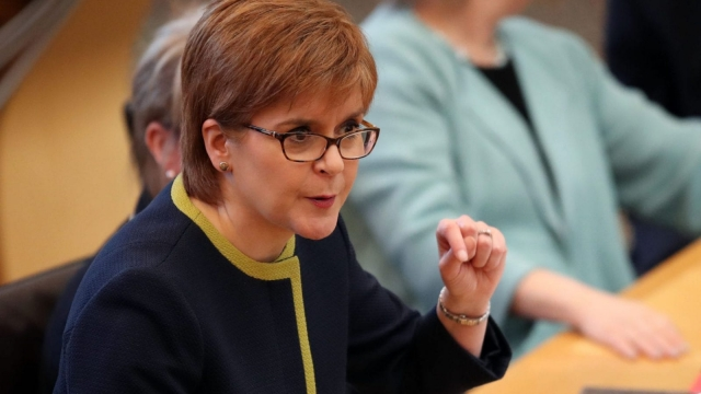 Nicola Sturgeon announced plans for a Scottish National Investment Bank last year (Photo: PA)