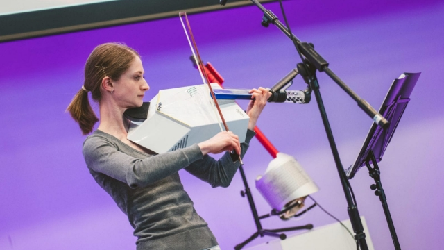 Dyson has created new hybrid musical instruments from its products (Photo: Dyson)