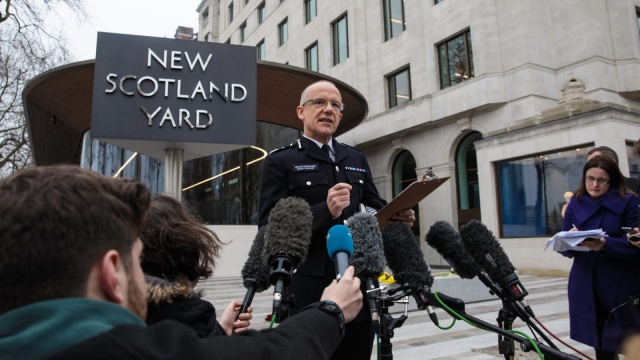 Assistant Commissioner Mark Rowley of the Metropolitan Police (Jack Taylor/Getty Images)