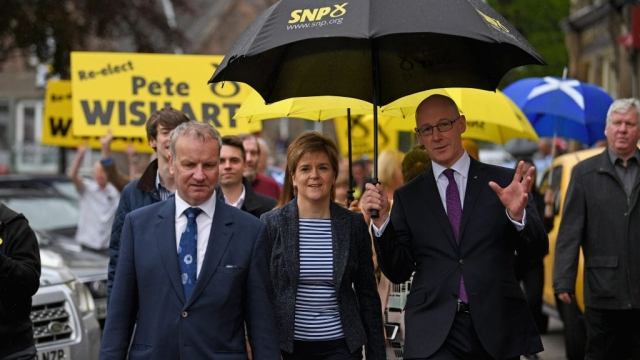 Pete Wishart said the SNP should face reality on Brexit (Photo: Getty)