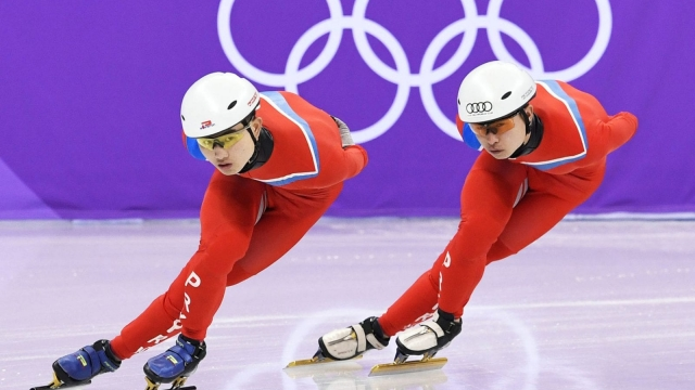 North Korean athletes underwent just one doping test in the last four months of 2017 ahead of the Winter Olympics (Photo: Kyodo News via Getty Images)