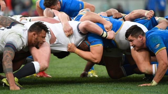 Eddie Jones believes Italy performance was best he has seen from his England scrum (Getty Images)