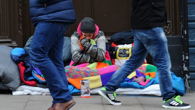 """Stephen Bush: """"Talking to the people you see sleeping rough is terrifying because the longer you do it, the easier it is to imagine yourself falling into a similar fate"""" (DANIEL SORABJI/AFP/Getty Images)"""