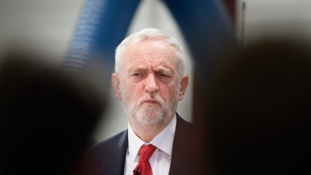 Jeremy Corbyn is trying to keep Labour together over Brexit (Photo: Leon Neal/Getty Images)
