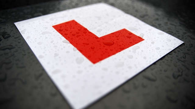 One of Nick's fellow residents offered to make him L plates