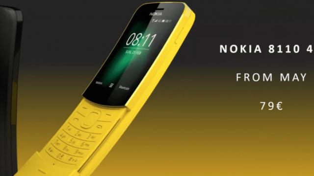 The new Nokia 8110 (Photo: Nokia)