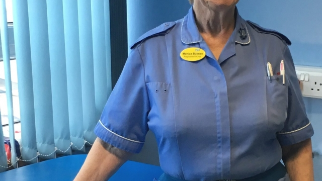 Monica Bulman, 84, has retired after 66 years' service as a nurse. (Photo: Torbay and South Devon NHS Foundation Trust)