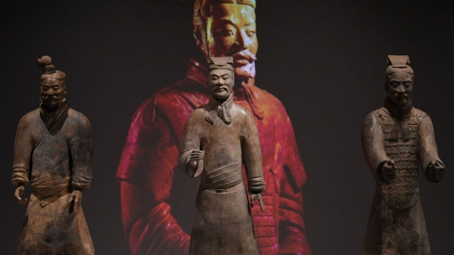 China's First Emperor at the World museum in Liverpool. (Photo: Paul Ellis/AFP/Getty Images)