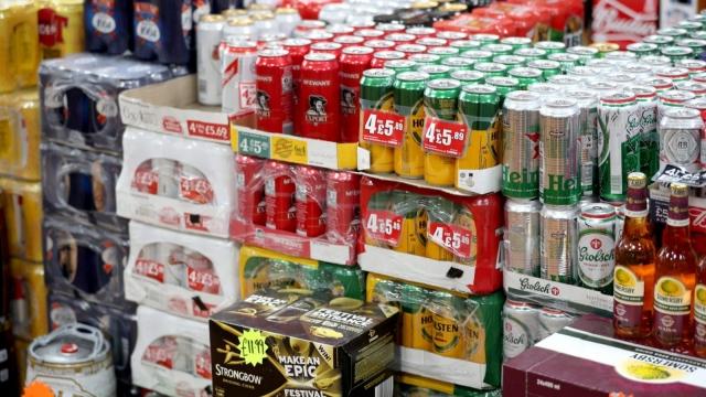 Scotland has set a minimum unit price for alcohol of 50p (Photo: PA)