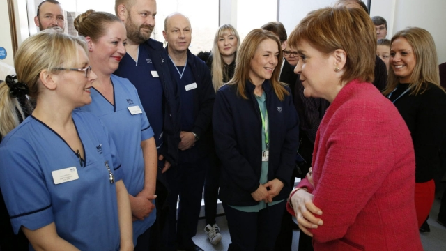 The survey of NHS workers shows that many are worried about staffing levels (Photo: Scottish Government)