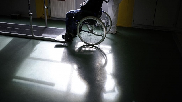 Article thumbnail: The report predicts a sharp rise in the number of wheelchair users in Scotland (Photo: Getty)
