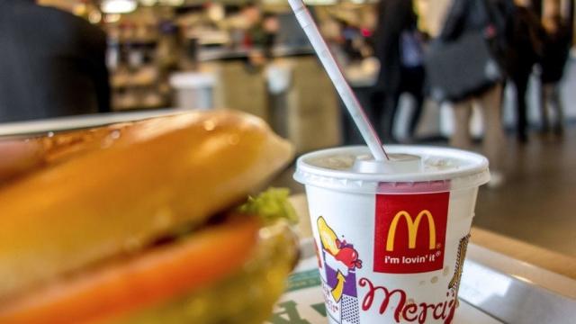 McDonald's plastic