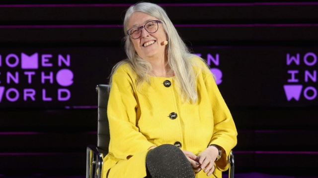 Mary Beard is one of the new generation of media dons, dominating television screens (Jemal Countess/Getty Images)