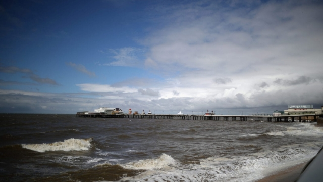 He held the man afloat until the emergency services arrived to the scene at just after 7pm inStarr Gate, South Shore in Blackpool (Photo: Getty)