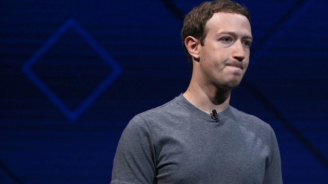 Facebook founder Mark Zuckerberg placed adverts in national newspaper apologising to users for the firms recent data scandal. (Photo: Getty)
