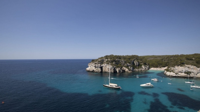 Henry Blofeld has decamped to Menorca (JAIME REINA/AFP/Getty Images)