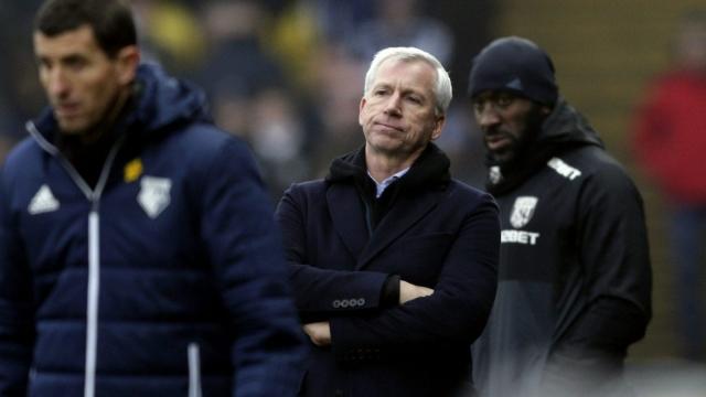 Watford West Bromwich Albion Premier League Alan Pardew