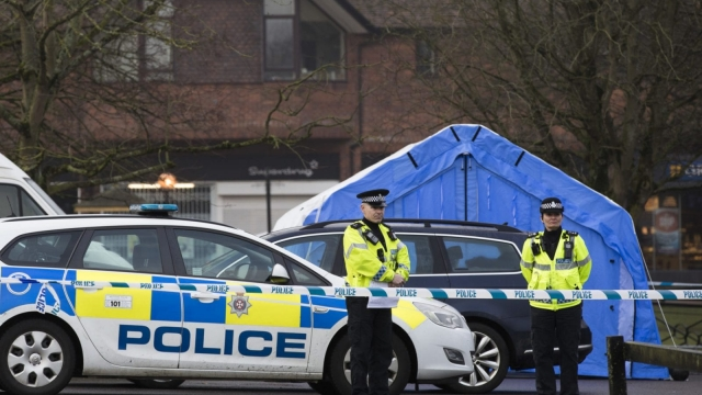 A huge police operation is underway in Salisbury where the Skripals were found critically ill (Dan Kitwood/Getty Images)