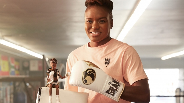 Mattel has created a 'boxer Barbie' in Nicola Adams' likeness to pay tribute to the Olympic star (Photo: Mattel)