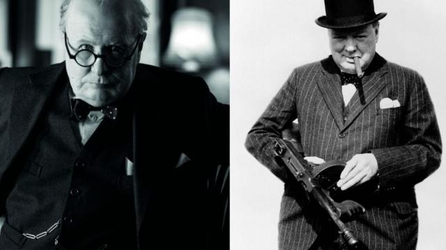Gary Oldman and Churchill