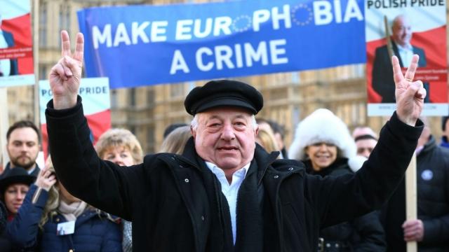 Article thumbnail: Millionaire aristocrat Prince John Zylinski launches his political party Duma Polska: Polish Pride (Photo: Yui Mok/PA Wire)