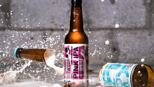 BrewDog's bottled Pink IPA takes aim at the gender pay gap and 'sexist' marketing (Photo: BrewDog)