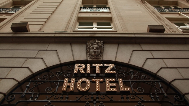 'The Ritz London: The Cookbook' is divided into four sections, each featuring canapés and cocktail pairings (Photo: Peter Macdiarmid/Getty Images)