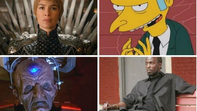 The greatest TV villains