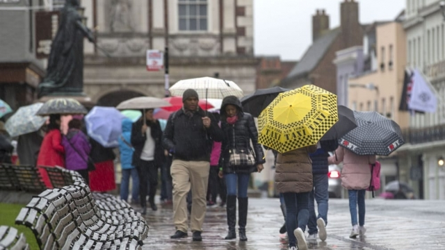 Forecasters are predicting it could be a rather wet Easter weekend. (Photo: Steve Parsons/PA Wire)